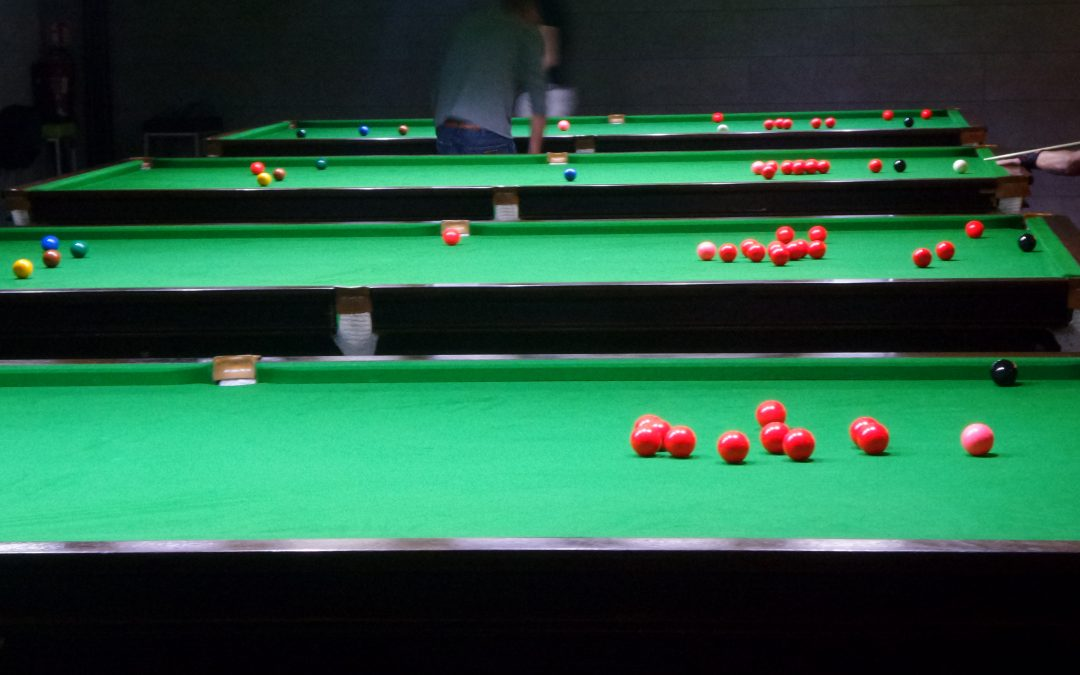 Snooker Toernooi 30 oktober 2016